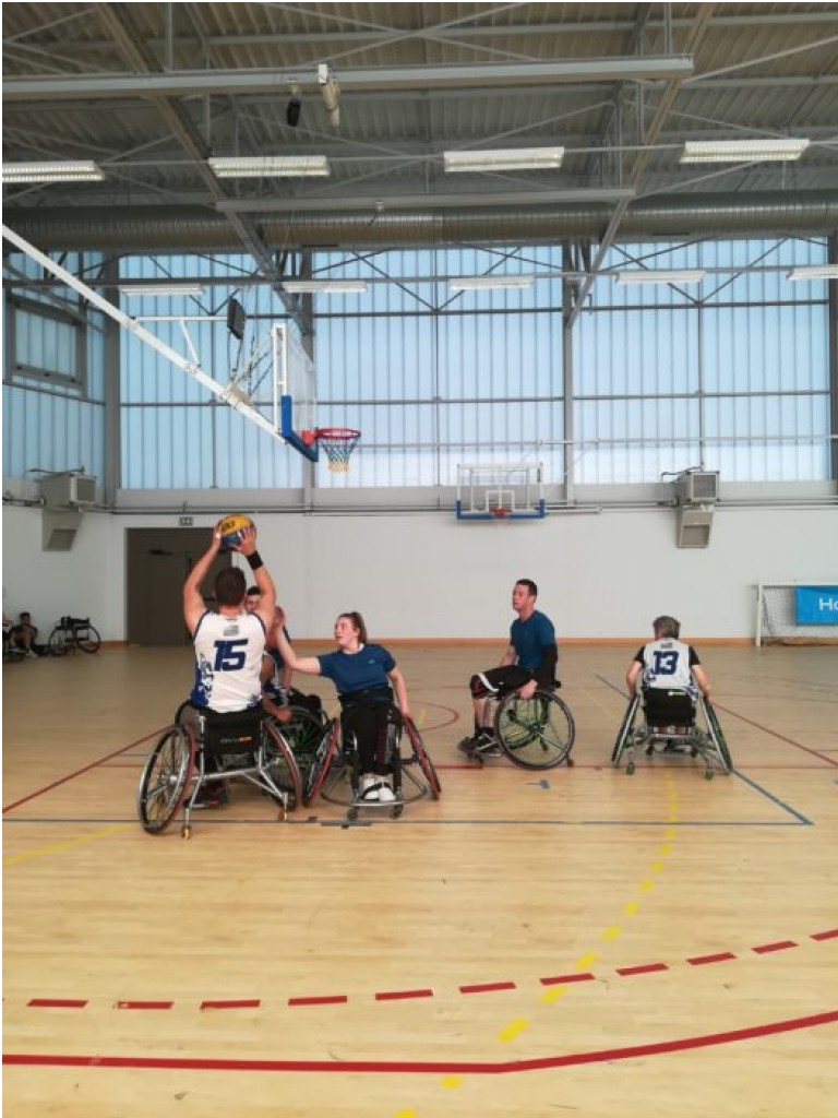 Basket-Ball Fauteuil - Handisport