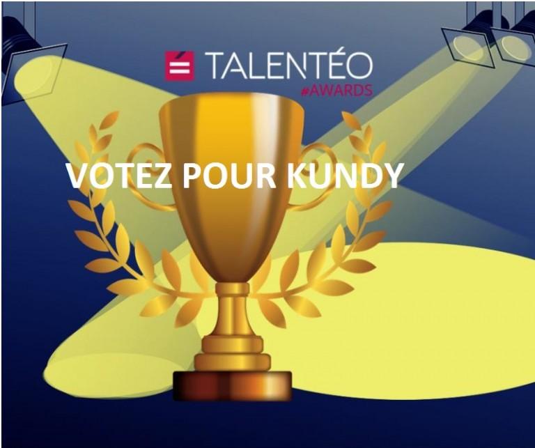 Talenteo Awards 2021 - Votez pour kundy